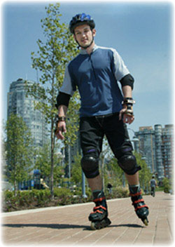 Rollerblading Lessons In Vancouver Bc Canada Instructions Techniques